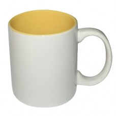 White & Yellow Mug